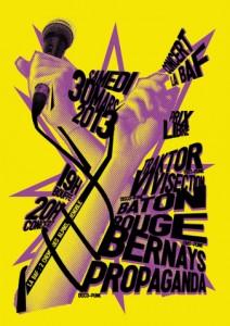 Affiche du concert du 30 mars 2013