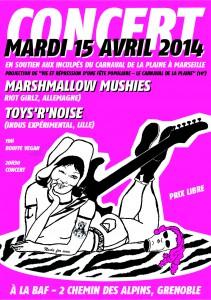 concert Marshmallow Mushies
